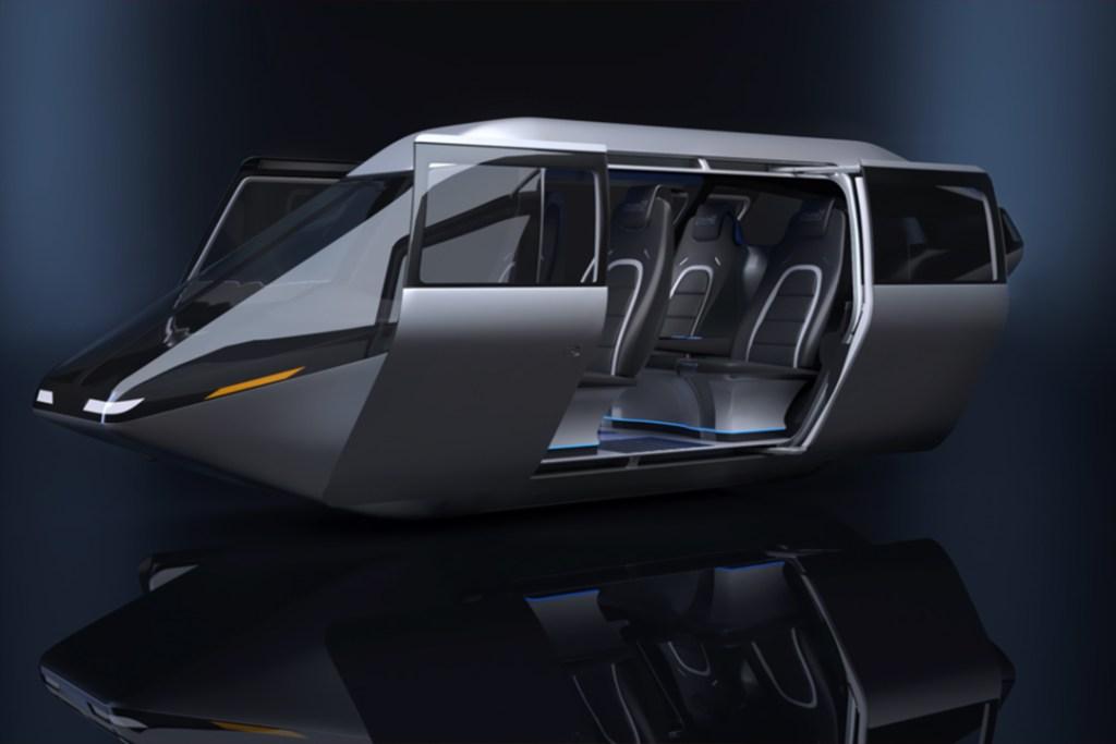 Bell Helicopter y su futurista taxi aéreo te recordará a Blade Runner