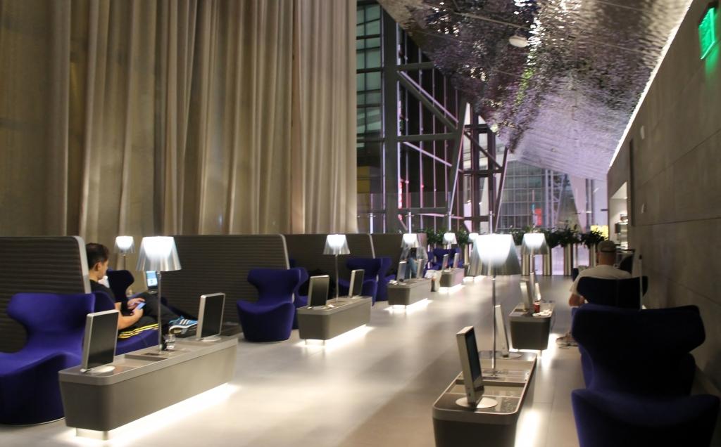 Qatar Airways Al Mourjan Business Class Lounge Doha 13 1024x636 - Conoce algunos de los mejores lounge VIP de aeropuertos en el mundo
