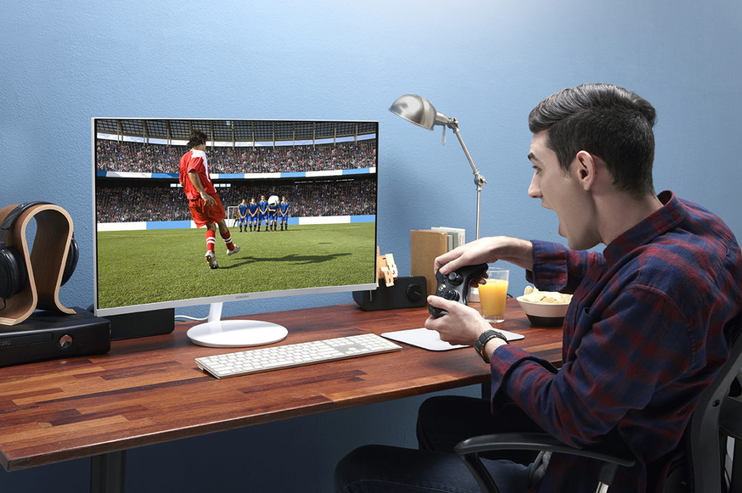 QuantumDotCurveGamingMonitor7 1 - Samsung tiene las mejores pantallas para gamers
