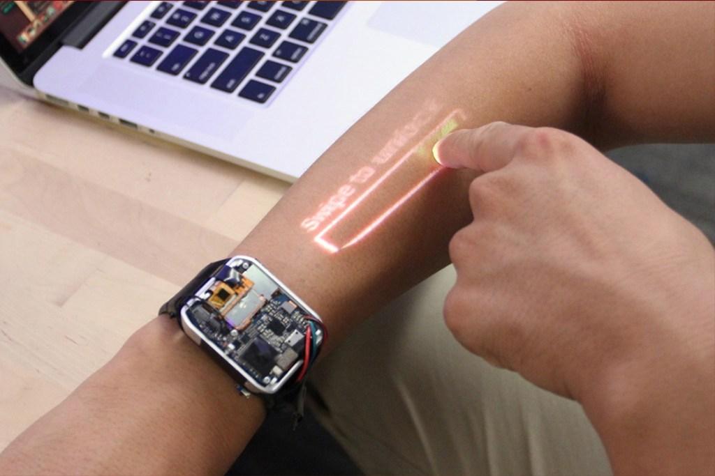 Tu brazo podría ser la nueva pantalla de este reloj inteligente