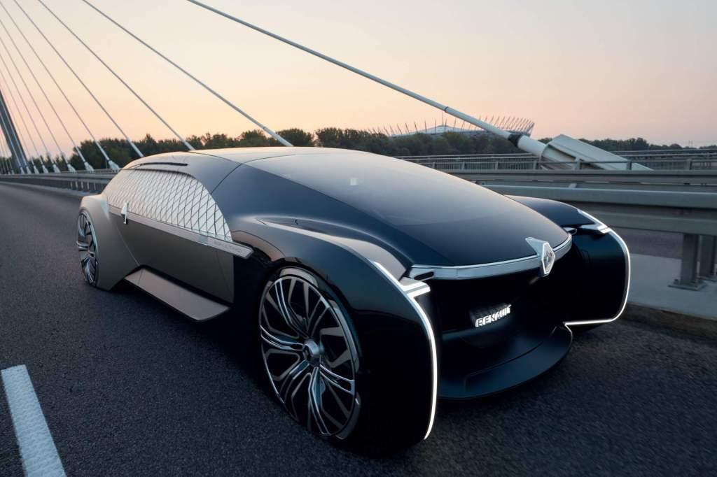 Renault EZ-ULTIMO. Jamás viste un auto como este…