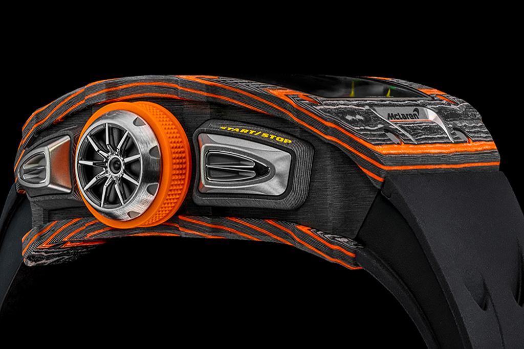 Lo nuevo de Richard Mille lleva el sello de McLaren