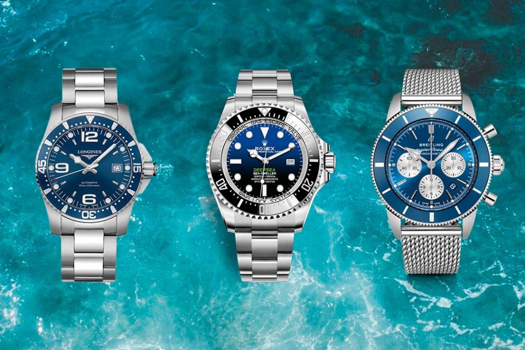 5 relojes con estilo para tus próximas aventuras en el fondo del océano (sólo para él)