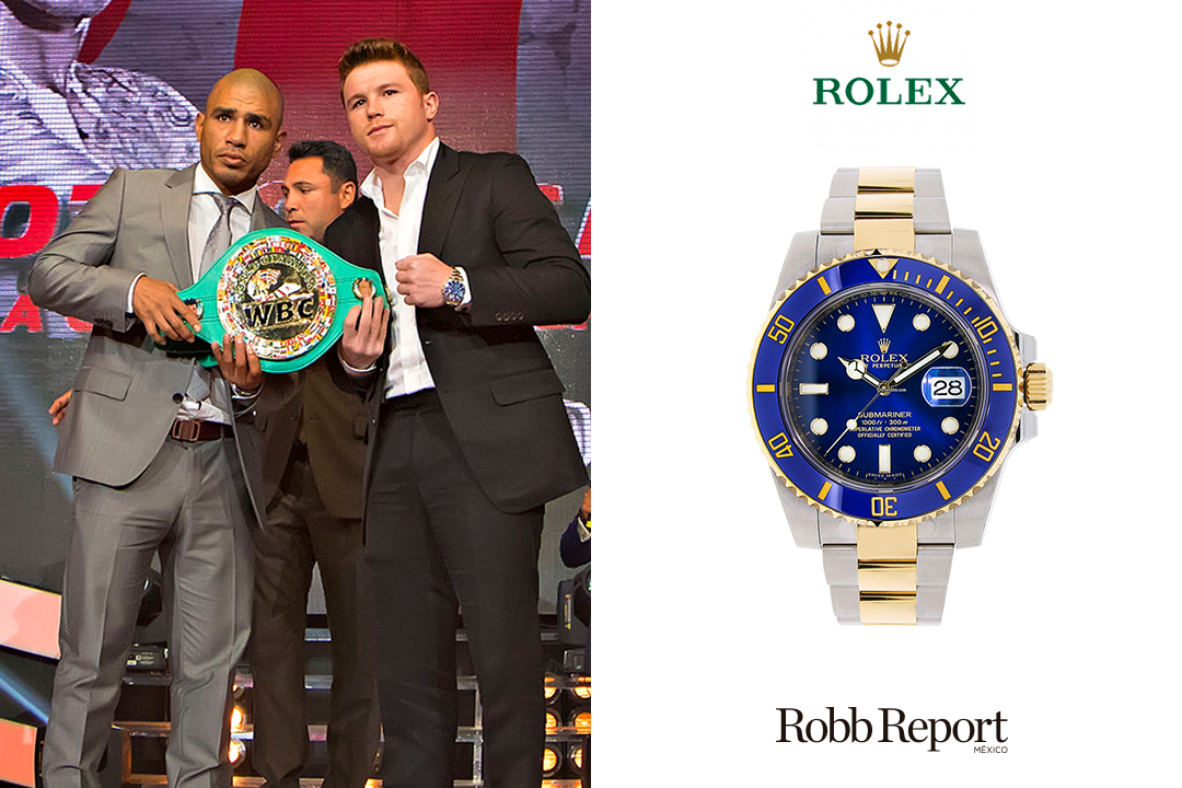 "Rolex Canelo 1 - Estas son las marcas favoritas de lujo de Saúl ""Canelo"" Álvarez"