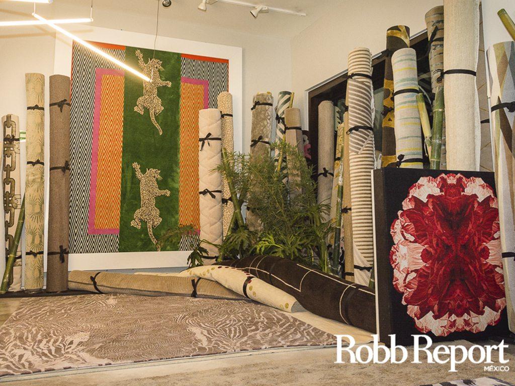 """The Rug Company celebró 5 años con mágico """"bosque de bambúes"""""""