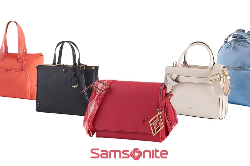 La mejor inversión y regalo para ellas es un elegante bolso de Samsonite