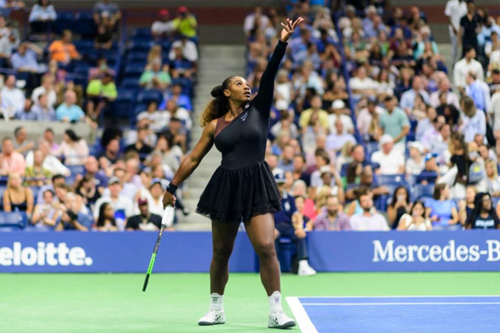 serena1 1024x683 - Serena Williams demuestra cómo se lleva un tutú en el US Open