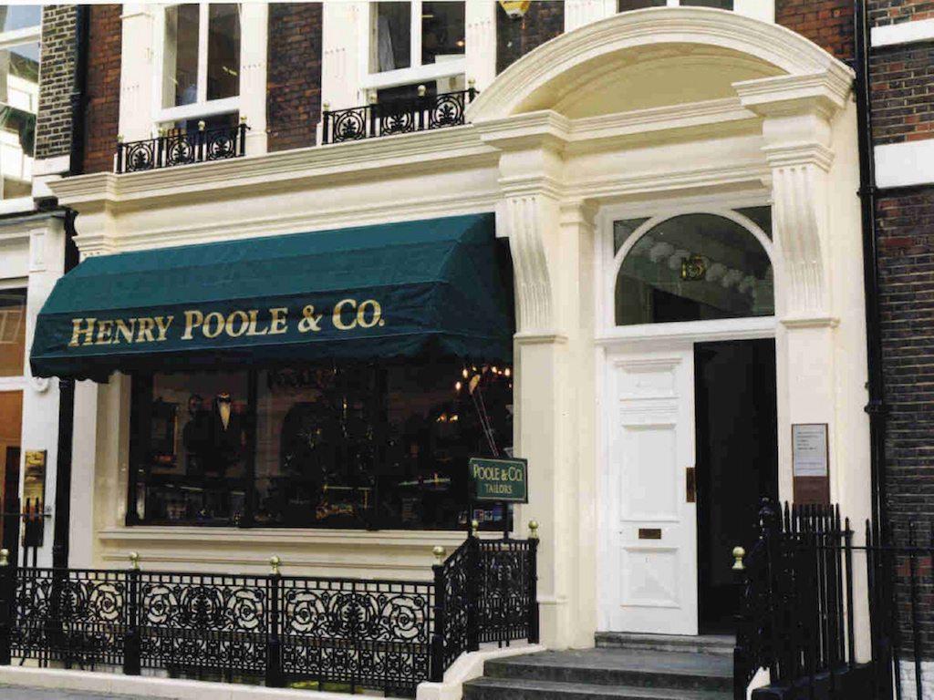 Londres a la medida: Henry Poole & Co.