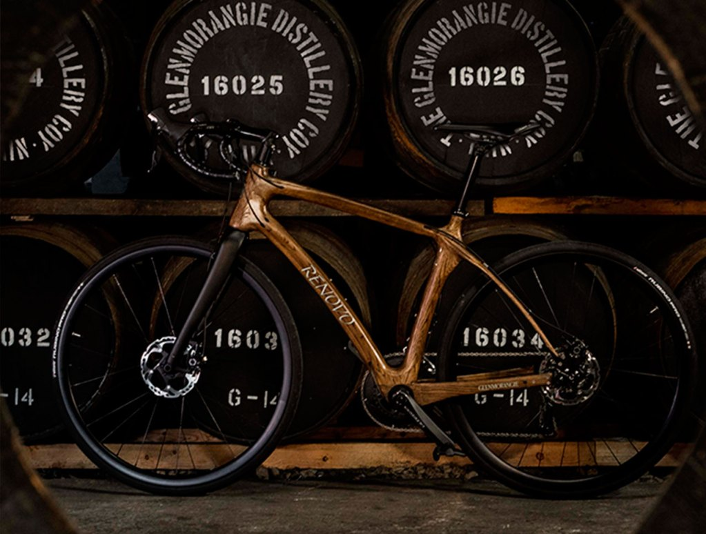 Conoce la bicicleta hecha con barriles de whisky Glenmorangie