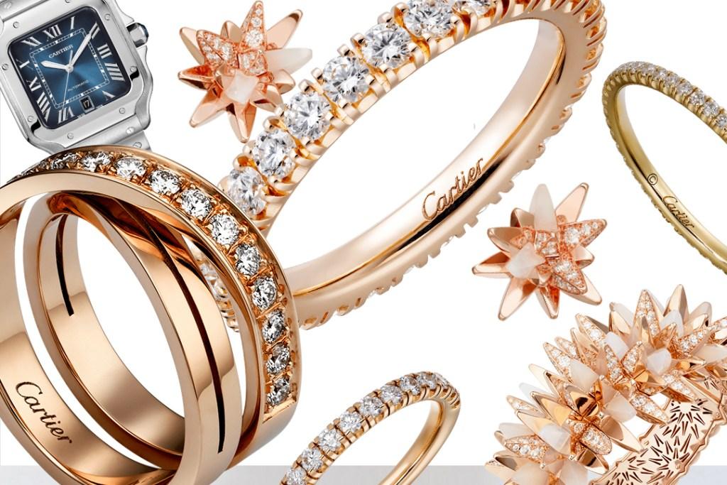 Cartier inundó los Golden Globe Awards