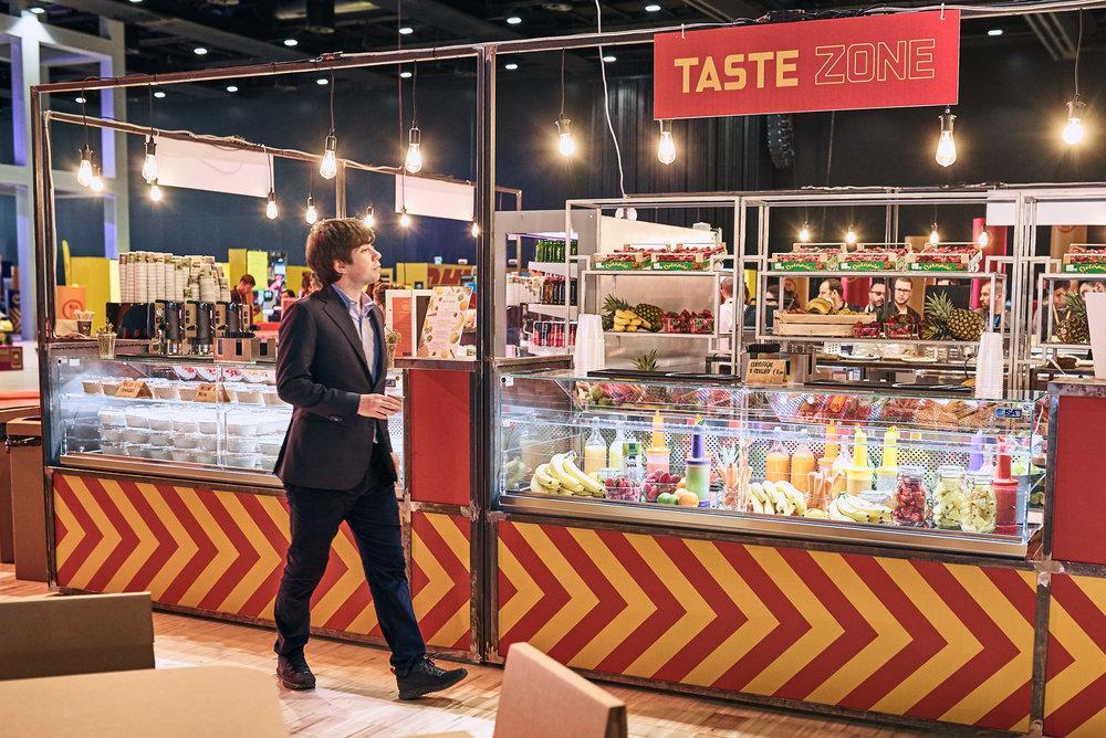 Taste Zone - Esto es todo lo que podrás vivir durante la Fórmula E