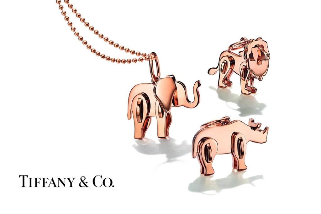 'Save The Wild' la colección de Tiffany & Co. que ayuda a salvar a los animales