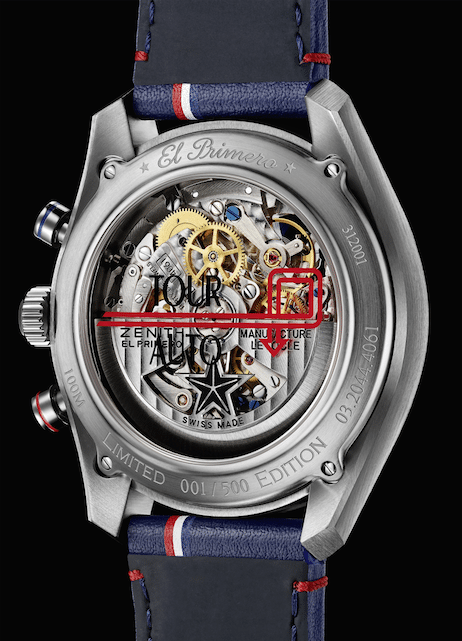 "Zenith revive el reloj ""El Primero Chronomaster 1969 Tour Auto Edition"""