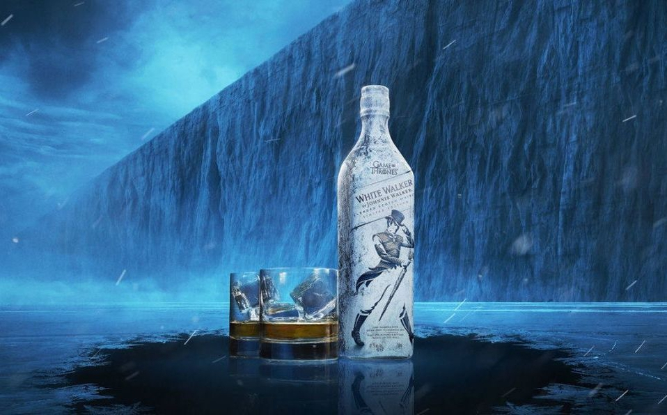 white walker whisky inspirado serie 35 0 964 600 - Johnnie Walker presenta White Walker, edición limitada Game of Thrones