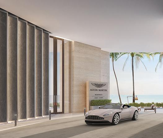 Aston Martin presenta sus exclusivas residencias de lujo