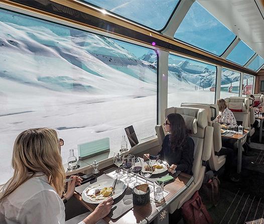 Glacier Express, un tren más allá de primera clase