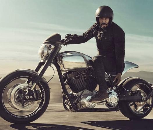 La colección de motos de Keanu Reeves que te dejará impactado