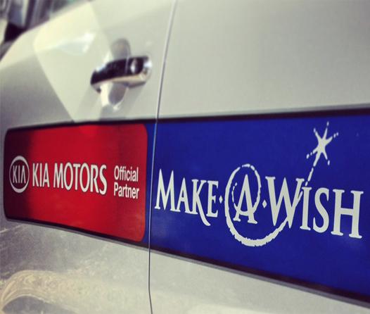 Kia y Make-A-Wish hacen el sueño de un niño realidad
