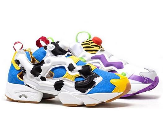 Al infinito y más allá con estos nuevos sneakers Reebok de Toy Story 4