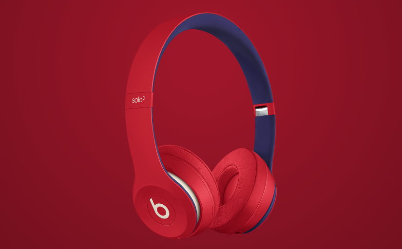 Beats Solo3 Wireless Club Red