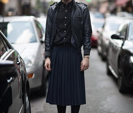 Así es como puedes usar faldas de hombre sin perder el estilo