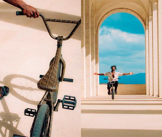 Bicicleta Fendi BMX