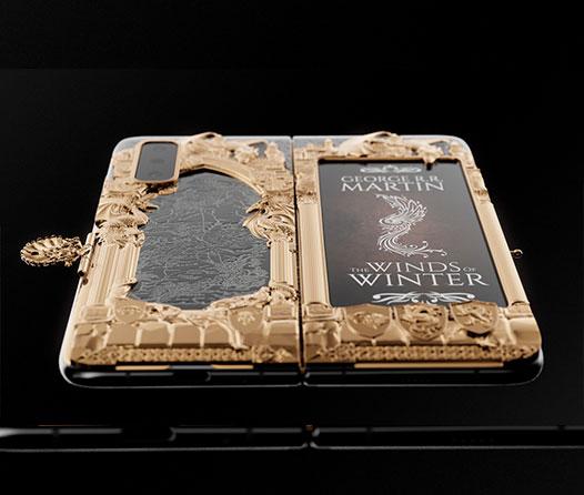 Te vas a morir por este Galaxy Fold con grabados en oro de Game of Thrones