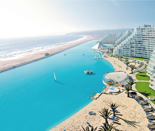 Sumérgete este verano en una de las piscinas más grandes del mundo