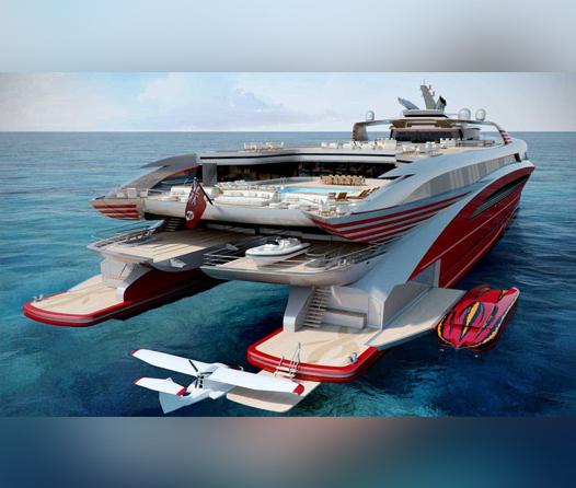 ¿Es este el catamarán más lujoso que hemos visto?