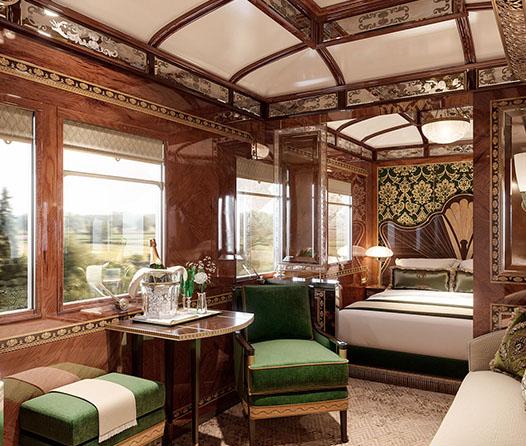 El tren de 'Asesinato en el Expreso de Oriente' tiene tres nuevas suites