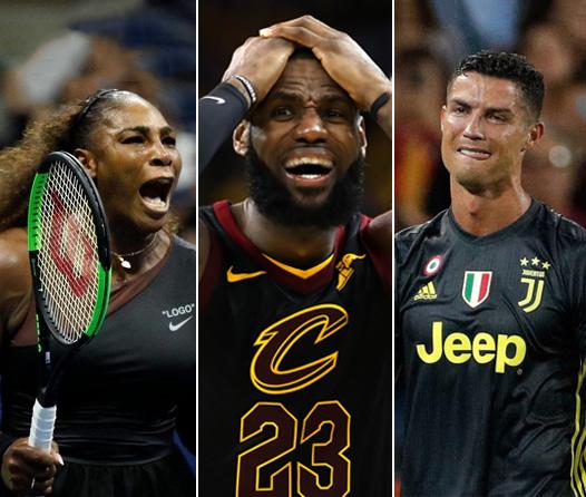 Los enojos más costosos de los mejores deportistas