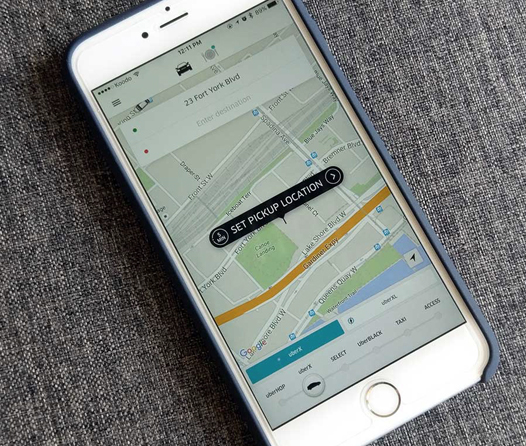 Uber reemplaza al transporte público de Canadá, ¿pasará lo mismo aquí?
