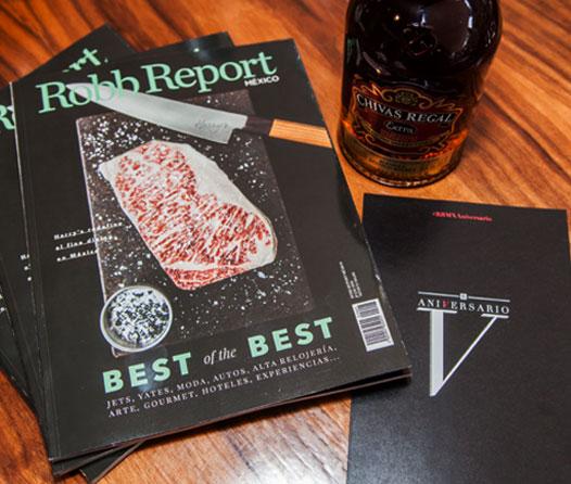 Robb Report México cumple 5 años como la revista de lujo más importante del país