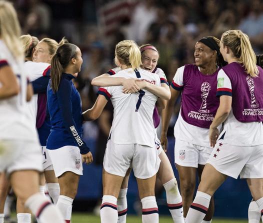 Equipo femenino de futbol estadounidense