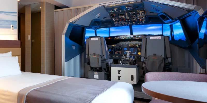 habitacion-con-simulador-de-avion