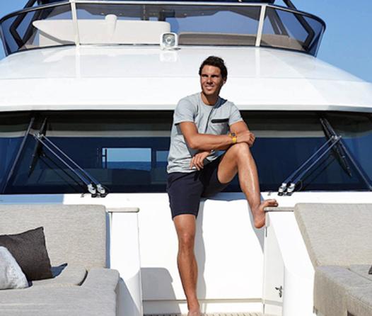 Rafael Nadal vende su Superyate por 3 millones de dólares
