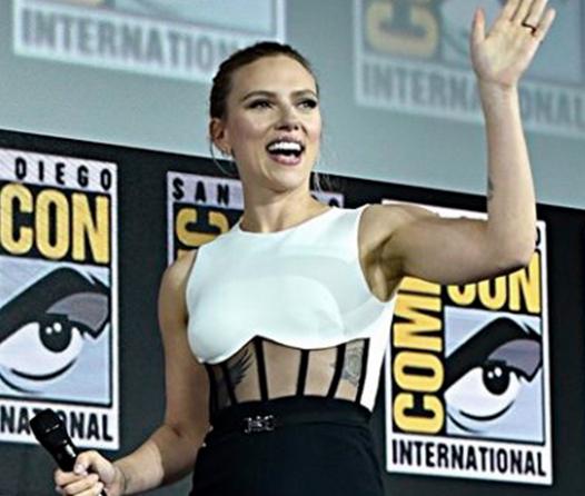 Esto cuesta el anillo de compromiso de Scarlett Johansson