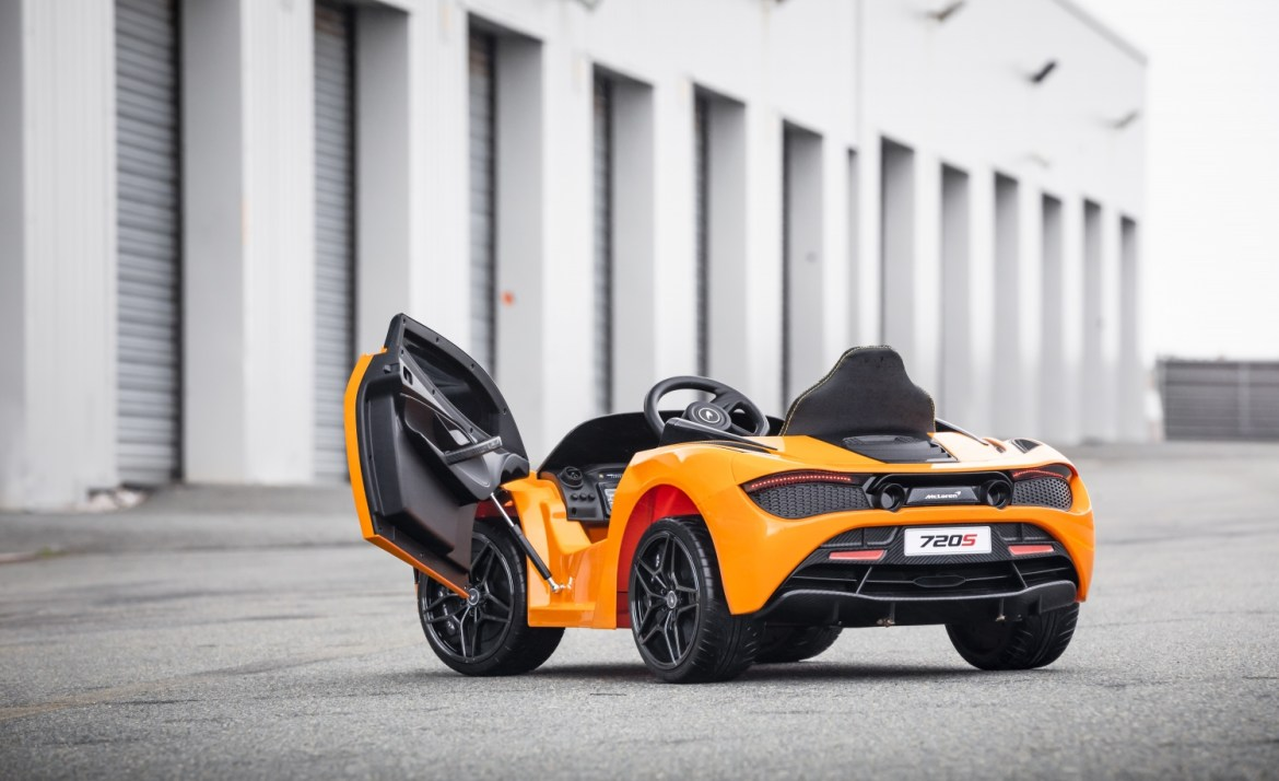 Interior McLaren 720s Ride-On