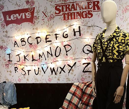 Levis lanza cápsula de Stranger Things