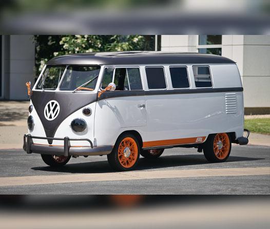 Volkswagen revive su icono hippie en forma de máquina futurista