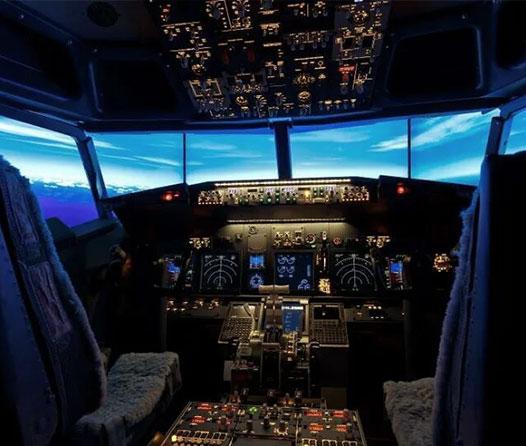 Primera habitación del mundo equipada con un simulador de vuelo