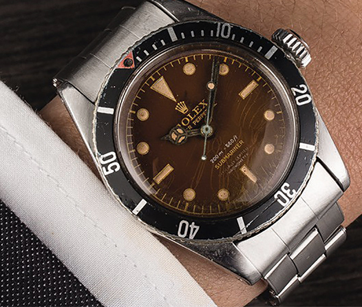 Conviértete en espía con este exclusivo Rolex utilizado por James Bond