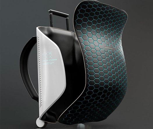 Zero-G es la primera maleta inteligente diseñada para viajar al espacio