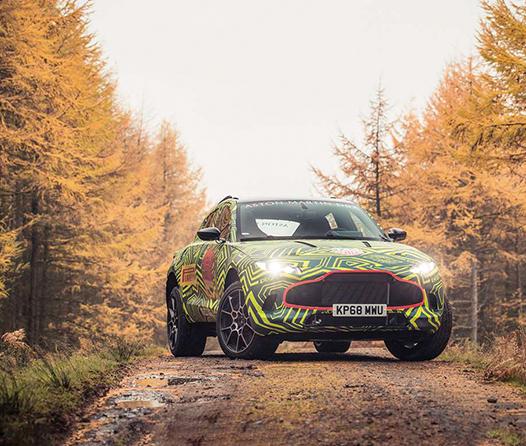 Tras años de espera, el primer SUV de Aston Martin ya tiene fecha de estreno