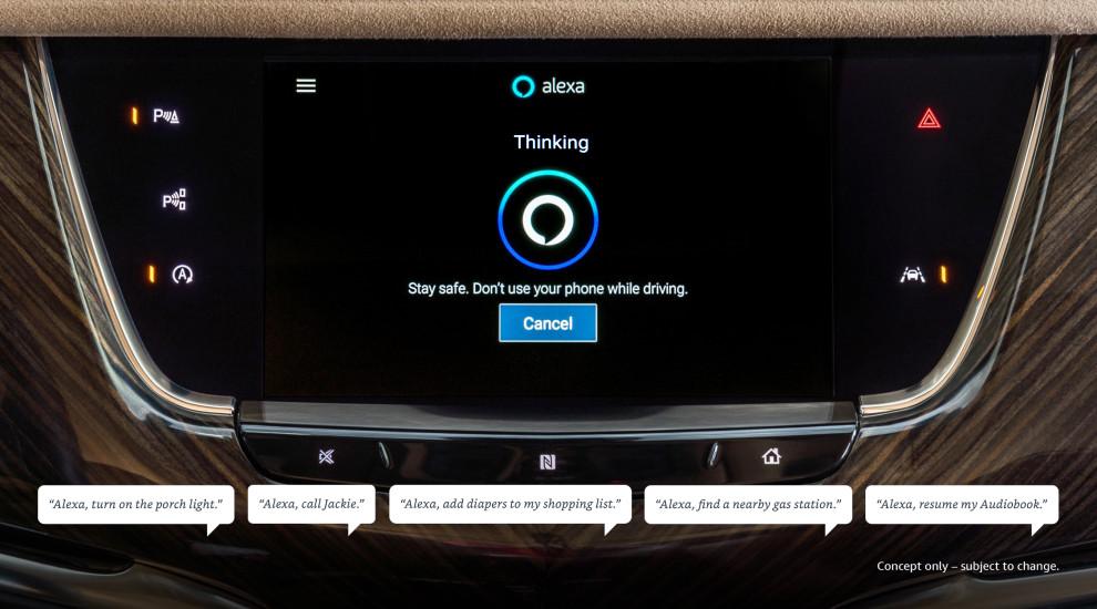 Alexa de Amazon llega a Chevrolet, Buick, GMC y Cadillac