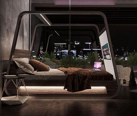 ¿Dormirías en una cama inteligente que cuesta 37 mil euros? Conoce la nueva HiBed