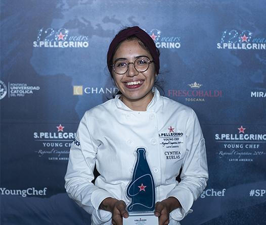 Xrysw Ruelas, representante regional de Latinoamérica en el S.Pellegrino Young Chef