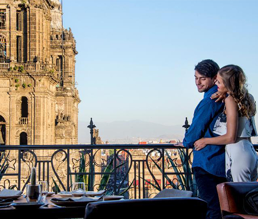 Disfruta del Centro Histórico como todo un turista en este hotel