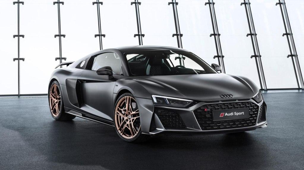 El R8 V10 Decennium de Audi es un diamante de cuatro ruedas