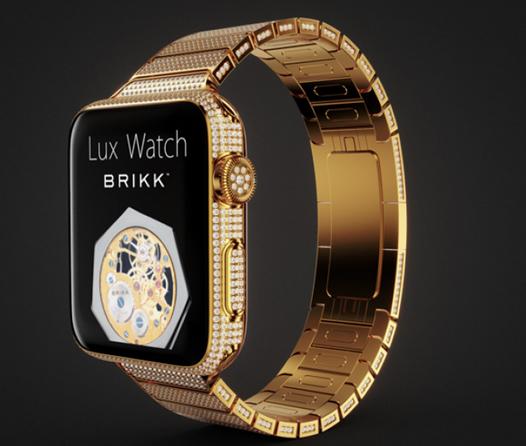 Lux Watch Omni 18K Yellow Gold